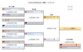 U17女子W杯2018 決勝T